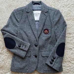 ABERCROMBIE & FITCH • Wool Blazer